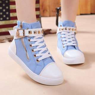High Ankled Sneakers