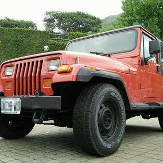 吉普 1995 Jeep Wrangler 手排藍哥