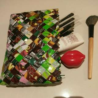 Handcrafted Make Up / Multi-purpose Pouch