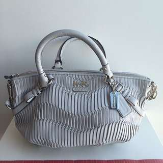 Luxury Line 100% Real Leather Coach Sachel (medium)