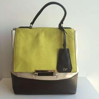 100% Genuine Calfskin Diane Von Furstenberg Handbag