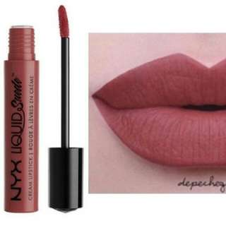 "NYX Liquid Suede ""Soft Spoken"""