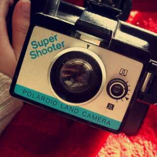 Vintage Super Shooter Polaroid Land Camera