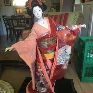 19 Inch Geisha Doll Stand
