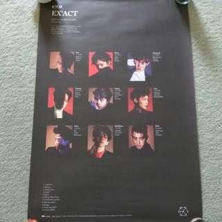 EXO - EX'ACT (Monster ver.) (Poster) [UNFOLDED]