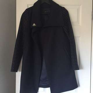 Zara Wool Coat Size Small