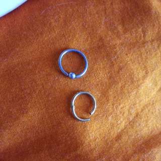 Cartilage Hoop Earrings