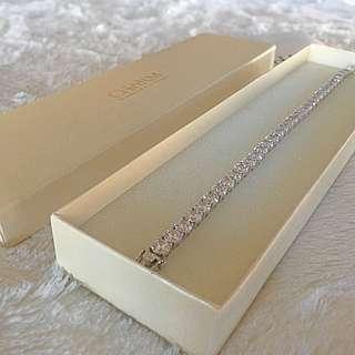 💎Never Worn Charm Diamond Centres Bracelet