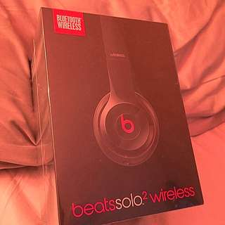 Glass Black Beats Solo 2 Wireless