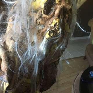 Halloween Mask - Creepy Zombie Old Man