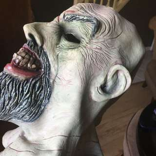 Halloween Mask Old Man