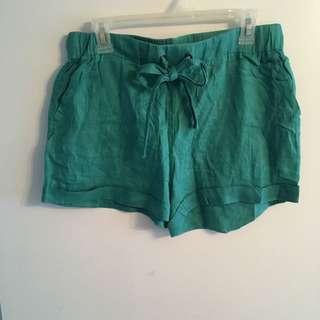 Aqua J Crew Shorts