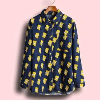 Bart Denim Shirt