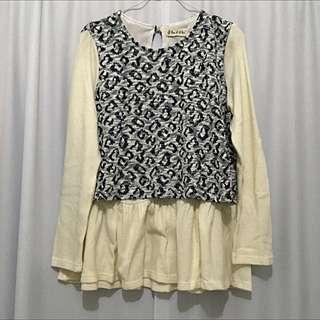 Stylish White Pullover