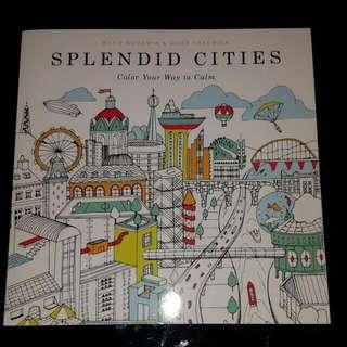 Coloring book - Splendid Cities