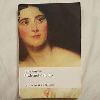 Book - Pride And Prejudice - Jane Austen 2004 - Oxford World's Classics