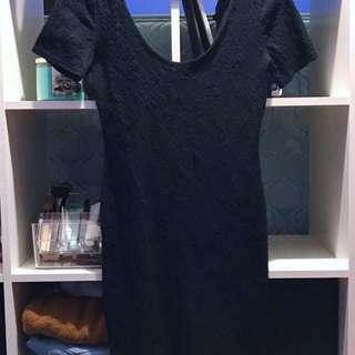 Forever 21-Black Dress