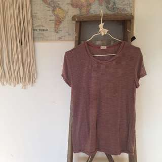 Brandy Melville Stripped Jessica Top