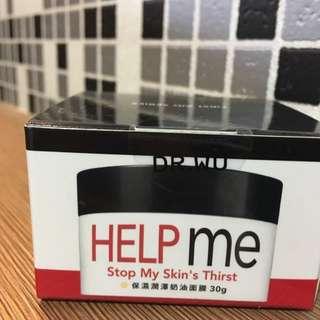 《全新含運》Dr.wu保濕潤澤奶油面膜30g
