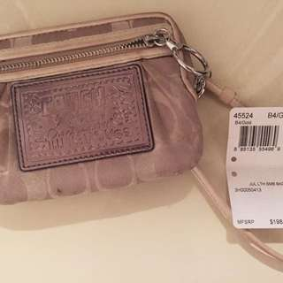 """*Reserved* Authentic Coach """"Poppy"""" Collection Wristlet"""