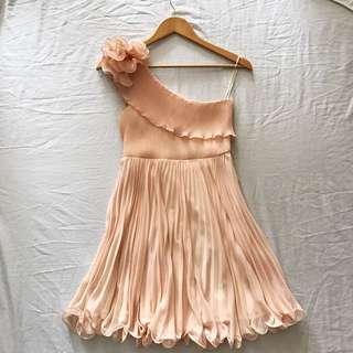 Blush Pink Semi-Formal Dress