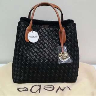 Tas WEBE BLINK Black Handbag