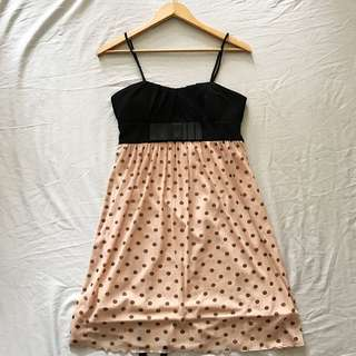 Black & Pink Casual Dress