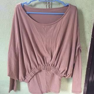 SEXY top with long sleeve inner!!