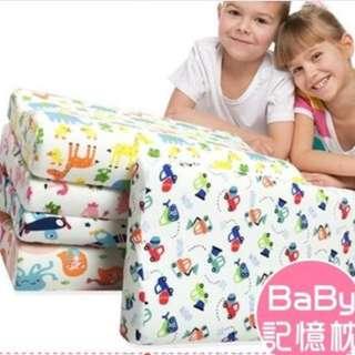 寶寶人體工學記憶枕