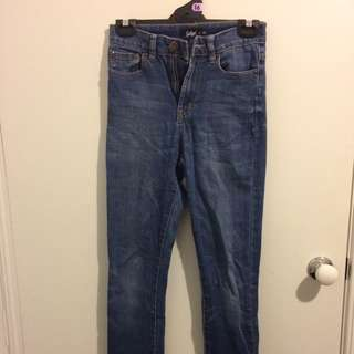 Sports girl Mid Rise Jeans