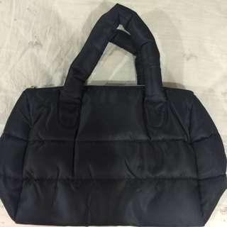 蘭蔻時尚空氣肩背包(黑)