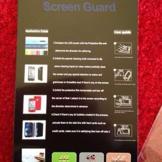 I Phone 4 & 5 Screen Protectors