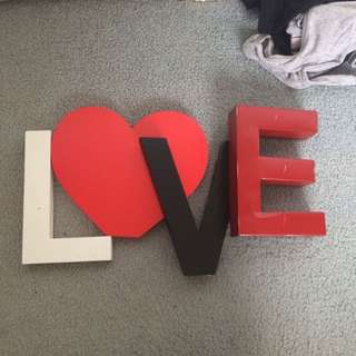 'love' Letters
