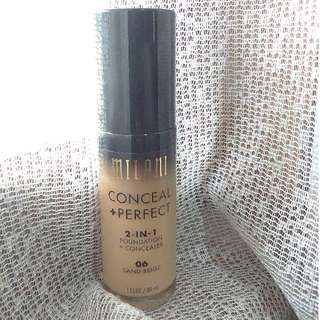 Milani Conceal + Perfect 2in1 Foundation (sand beige)