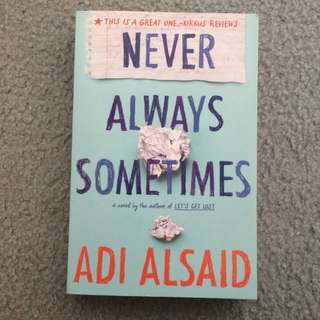 Never Always Forever By Adi Alsaid