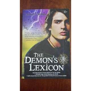 Novel The Demons Lexicon