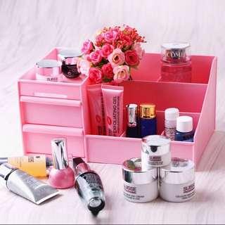一體成形 桌面收納盒 首飾化妝品 抽屜式