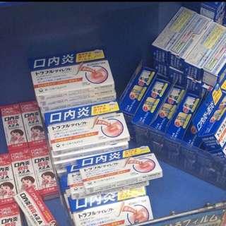 日本第一三共 口內炎貼片12枚