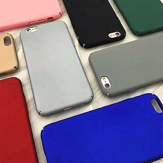 [INSTOKS SALE!] IPhone 7/7 PLUS Macaron-coloured Phone Cases (All sides protected)