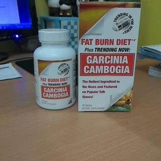 GARCINIA CAMBOGIA 40tabs Orig Price 1450 Exp. 12/2016  (May 3 Months Pa Po Yan After Exp Date)