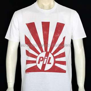 Public Image Ltd Kaos Band T-shirt original import official merchandise