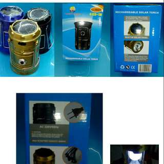3in1 Solar Rechargeable Lantern