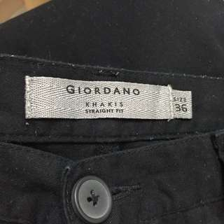 (size 36) Giordano Khakis Straight Fit