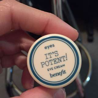Benefit It's Potent Eye Cream 3g
