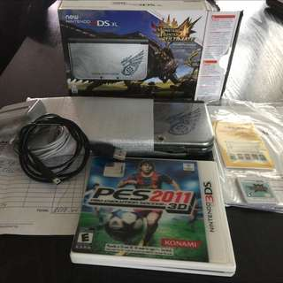 New 3dsxl Monster Hunter Edition