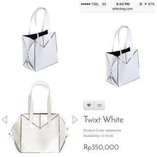 Twixt White by Aiden Bag