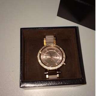 Michael Kros Rose Gold Watch