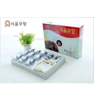 Seoul Buhang Cupping therapy Set