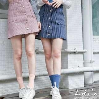 Lulus條紋窄裙