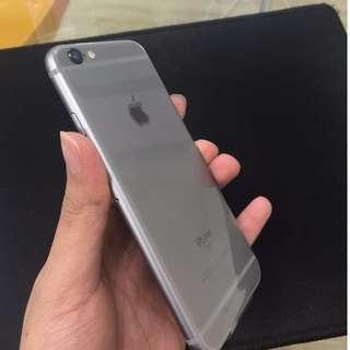 售iPhone6s 16g 灰 保固中 到明年2017/10/10